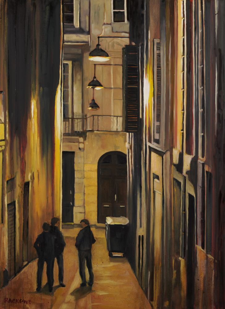 Evening Passage painting by Amanda Rackowe