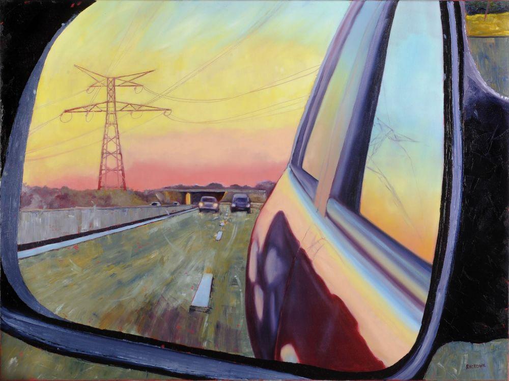 Backward Glance painting by Amanda Rackowe