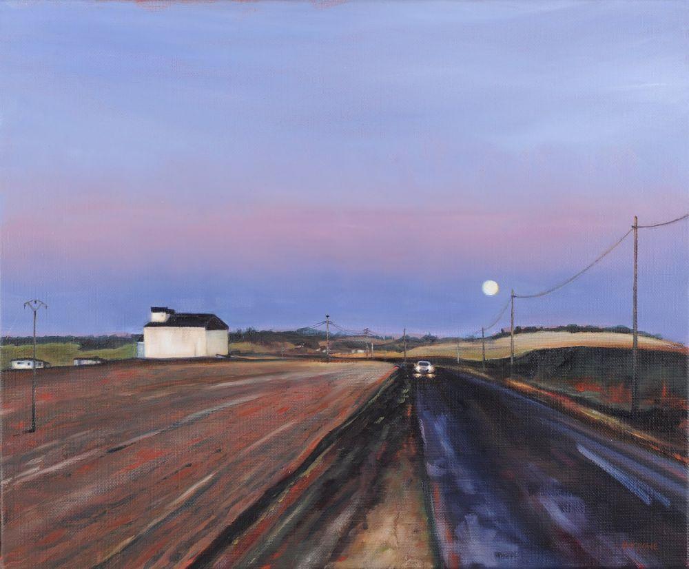 Early Start painting by Amanda Rackowe