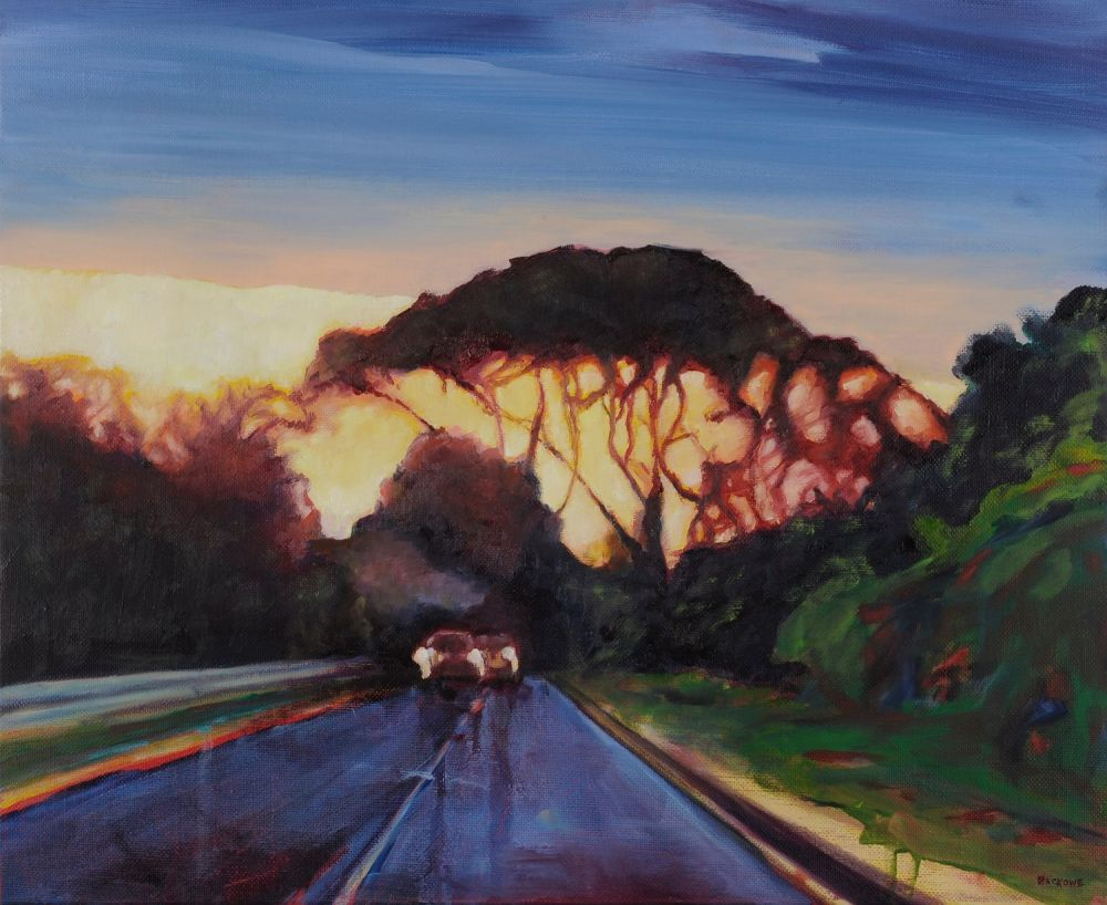 The End of a Long Day painting by Amanda Rackowe