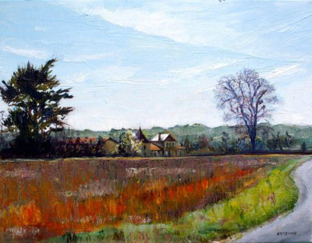Le Farziou painting by Amanda Rackowe