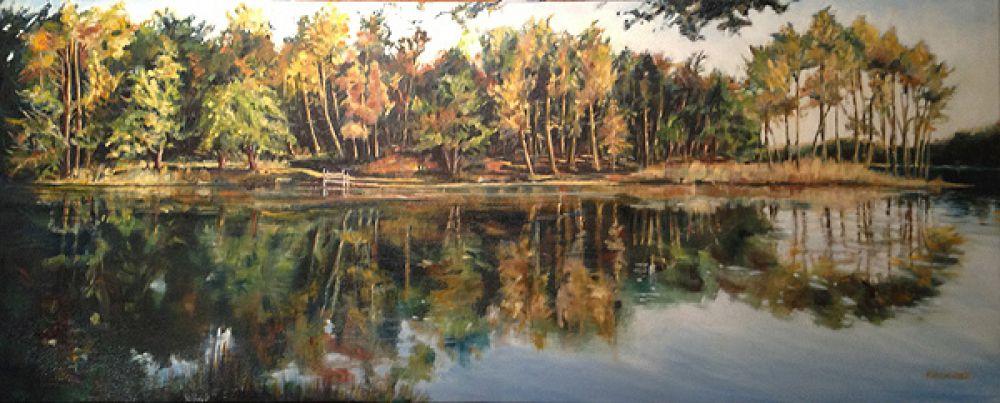 Jemaye painting by Amanda Rackowe