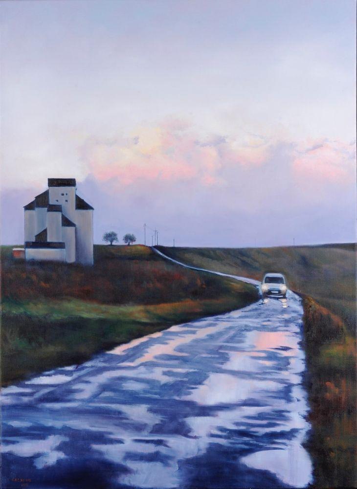 Le Retour painting by Amanda Rackowe