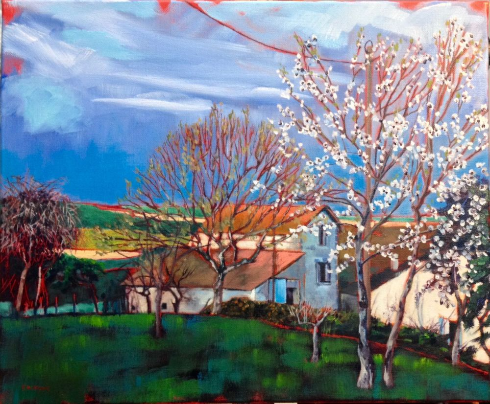 Spring Blossom painting by Amanda Rackowe