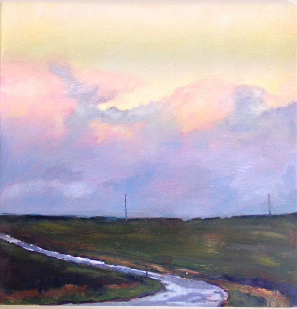 The Winding Road painting by Amanda Rackowe