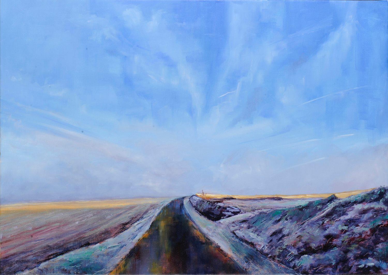 Morning Mist painting by Amanda Rackowe
